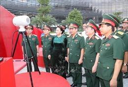 Chủ tịch Quốc hội làm việc tại Tập đoàn Công nghiệp - Viễn thông Quân đội