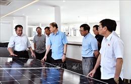 Kiểm tra tình hình thực hiện quy hoạch phát triển điện lực tại Ninh Thuận
