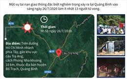 Toàn cảnh vụ lật xe khách tại Quảng Bình