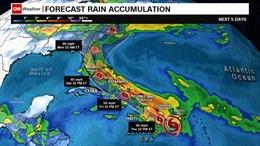 Bão Isaias đổ bộ vào Bahamas