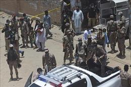 Hàng chục người bị thương trong vụ tấn công bằng lựu đạn tại Karachi