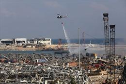 Tổng thống Liban cam kết điều tra đến cùng vụ nổ ở Beirut