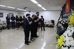 Đại sứ quán Việt Nam tại Hàn Quốc tổ chức Lễ viếng nguyên Tổng Bí thư Lê Khả Phiêu