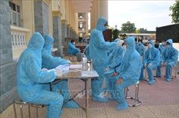 Tư lệnh Bộ Tư lệnh Thủ đô Hà Nội kiểm tra các khu cách ly y tế tập trung