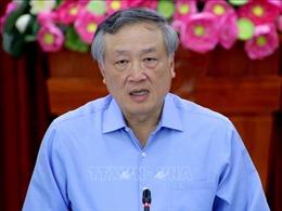Chánh án Tòa án nhân dân tối cao Nguyễn Hòa Bình làm việc tại Bạc Liêu
