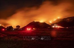 Ban bố tình trạng khẩn cấp tại bang California do cháy rừng, hàng chục nghìn người sơ tán