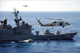 Nhật - Mỹ tập trận không quân và hải quân trên Biển Hoa Đông