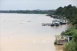 Mực nước sông Hồng ở Hà Nội lên nhanh, nguy cơ ngập lụt vùng trũng và bãi bồi