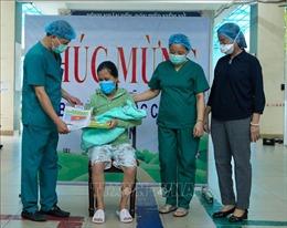 Đà Nẵng: Sản phụ mắc COVID-19 và 15 bệnh nhân khác được xuất viện