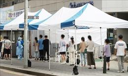 Số ca mắc mới COVID-19 tại Hàn Quốc vẫn ở mức 3 con số