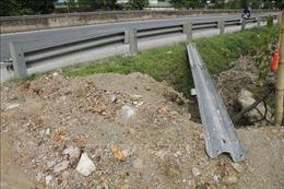 Phản hồi thông tin của TTXVN: Chấn chỉnh tình trạng tự ý phá kết cấu giao thông trên Quốc lộ 1A đoạn qua Hà Tĩnh
