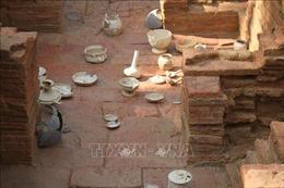 Côngbố kết quả thăm dò, khai quậtkhảo cổ ngôi mộ gạch cổ tại NinhBình