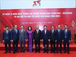 Thủ tướng dự Lễ kỷ niệm 75 năm Ngày thành lập ngành Ngoại giao Việt Nam