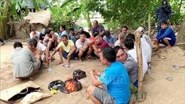 Triệt phá sới đá gà ở khu vực biên giới, bắt giữ 27 đối tượng liên quan
