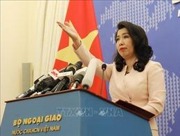 Phản ứng của Việt Nam trước việc Trung Quốc tập trận quân sự, bắn tên lửa tại Biển Đông