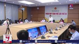 Phiên họp toàn thể Ủy ban Pháp luật: Đề nghị không bổ sung biện pháp ngừng cung cấp điện, nước tại địa điểm vi phạm