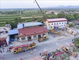 Điện thăm hỏi về vụ sập nhà tại tỉnh Sơn Tây, Trung Quốc