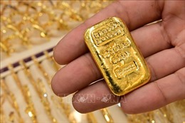 Giá vàng châu Á tăng giảm trái chiều