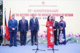 Long trọng tổ chức Lễ kỷ niệm 75 năm Quốc khánh Việt Nam tại CH Séc