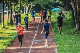 Các vận động viên tích cực tập luyện, hướng tới những giải đấu lớn