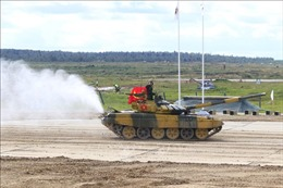 Việt Nam xuất sắc về nhất cuộc thi Xe tăng hành tiến tại Army Games 2020