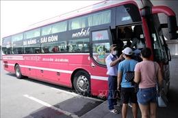 Đà Nẵng ngày đầu phục hồi hoạt động vận tải sau thời gian giãn cách xã hội