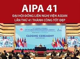 Đại hội đồng AIPA 41 thành công tốt đẹp