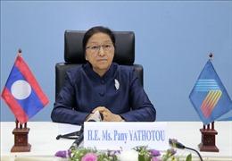 Chủ tịch Quốc hội Lào đánh giá Việt Nam đã làm rất tốt vai trò Chủ tịch AIPA 41