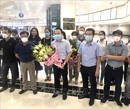 Đoàn cán bộ y tế Hải Phòng hoàn thành chuyến công tác đặc biệt tại Đà Nẵng