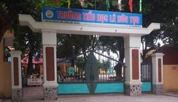 Nhiều học sinh nghi bị ngộ độc thực phẩm tại trường tiểu học Lê Hữu Tựu