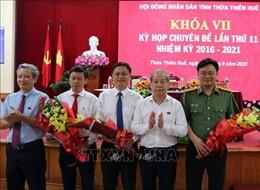 Phê chuẩn bầu bổ sung Phó Chủ tịch UBND tỉnh Thừa Thiên - Huế