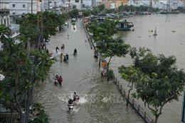 TP Hồ Chí Minh chủ động ứng phó đợt triều cường kết hợp mưa lớn diện rộng