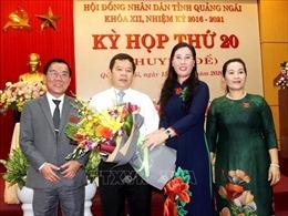 Thủ tướng phê chuẩn kết quả bầu chức vụ Chủ tịch UBND tỉnh Quảng Ngãi