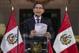 Tổng thống Peru vượt qua cuộc bỏ phiếu luận tội tại Quốc hội