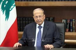 Tổng thống Liban kêu gọi Liên hợp quốc và cộng đồng quốc tế hỗ trợ