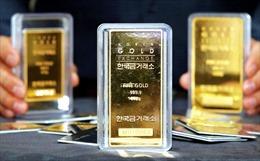 Giá vàng thế giới rơi xuống mức thấp nhất trong hai tháng