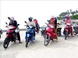 Tổ xe ôm 'đặc biệt' ở Lý Sơn