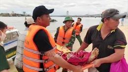 Một thuyền viên tử nạn trên biển do bị ròng rọc rơi trúng người