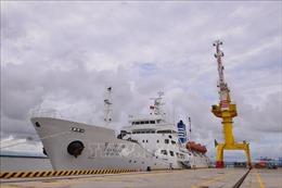 Trường Đại học Hàng hải Việt Nam tiếp nhận tàu huấn luyện do Chính phủ Hàn Quốc viện trợ