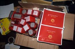 Bắt tạm giam một đối tượng làm giả con dấu, tài liệu của cơ quan, tổ chức