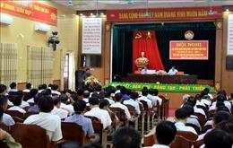 Cử tri Thái Bình kiến nghị giám sát việc mua sắm trang thiết bị y tế