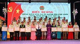 Ninh Bình biểu dương 141 nông dân sản xuất, kinh doanh giỏi
