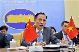 Thứ trưởng Bộ Ngoại giao Lê Hoài Trung ghi hình ngoại tuyến chúc mừng Quốc khánhTrung Quốc