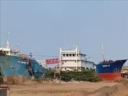 Tàu dịch vụ hậu cần đóng theo Nghị định 67 vẫn 'nằm bờ'