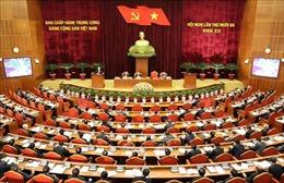 Ngày làm việc thứ nhất Hội nghị lần thứ 13 Ban Chấp hành Trung ương Đảng khóa XII
