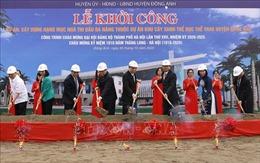 Hà Nội khởi công nhiều công trình phục vụ dân sinh quy mô hiện đại