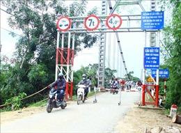 Tiềm ẩn nguy cơ mất an toàn từ những cây cầu xuống cấp ở Nghệ An