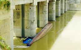 Sớm trục vớt tàu bị đắm khu vực Thủy điện Sông Lô 8B