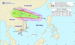 Đêm 13/10, bão số 7 sẽ đi vào Vịnh Bắc Bộ gây mưa rất to ở Bắc Bộ, Bắc Trung Bộ