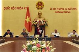 Khai mạc Phiên họp thứ 49 của Uỷ ban Thường vụ Quốc hội